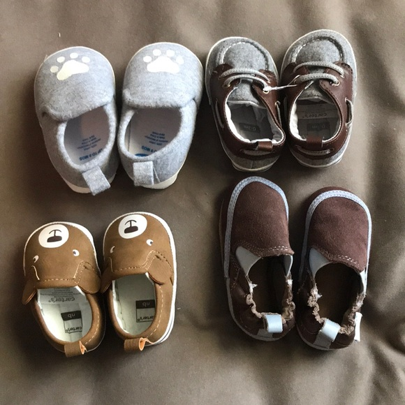 Carter's Other - Baby boy shoes Bundle